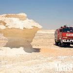 Z gasilskim avtomobilom po Sredozemlju (foto: Brane Krajnc)