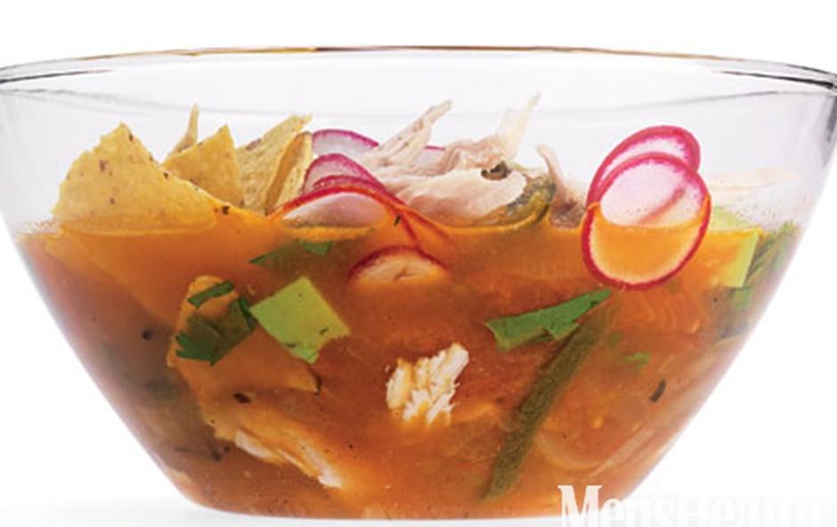 Ognjena mehiška juha (foto: Kiyoshi Togashi)