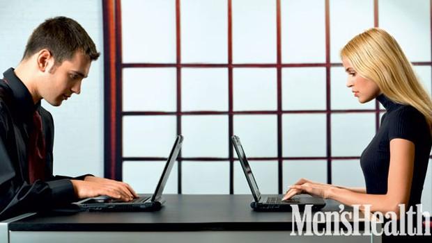 """""""Bi šla z mano na kosilo?"""" """"Lahko me vprašaš tudi naravnost, reva."""" (foto: Shutterstock.com)"""