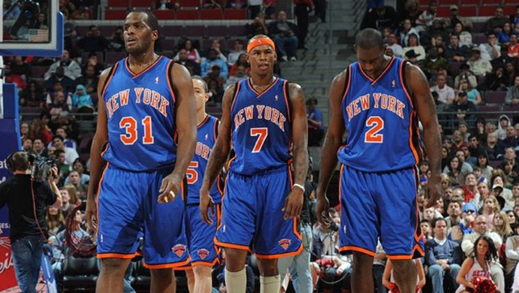 New York Knicks na tekmi proti Detroit Pistons-om. (foto: http://www.nba.com/knicks)