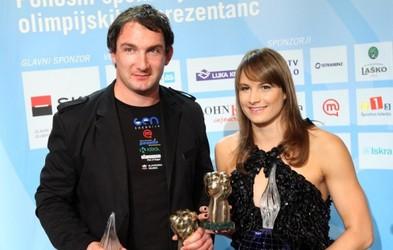 Primož Kozmus in Sara Isakovič športnika leta