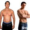 Avtor članka Adam Bornstein pred dieto in po njej. Svojo telesno maščobo je prepolovil.