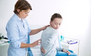Najpogostejši krivec za bolečino v vrati in hrbtu pri otrocih