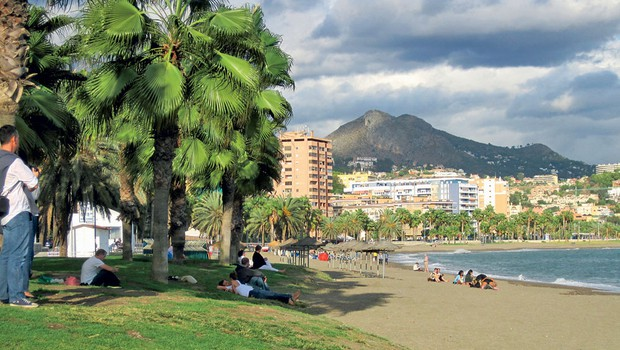 Slavna plaža: Malagueta (foto: Tina Lucu)