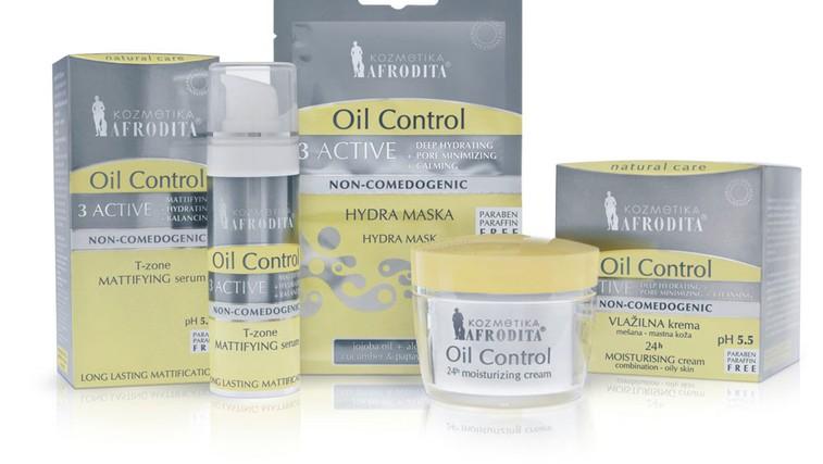 Kozmetika Afrodita Oil Control 3 Active