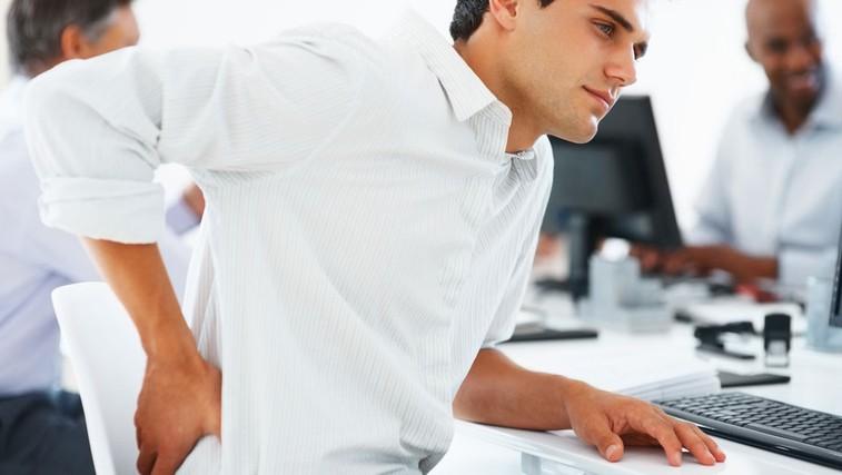 Bolečine v hrbtu (foto: Shutterstock.com)