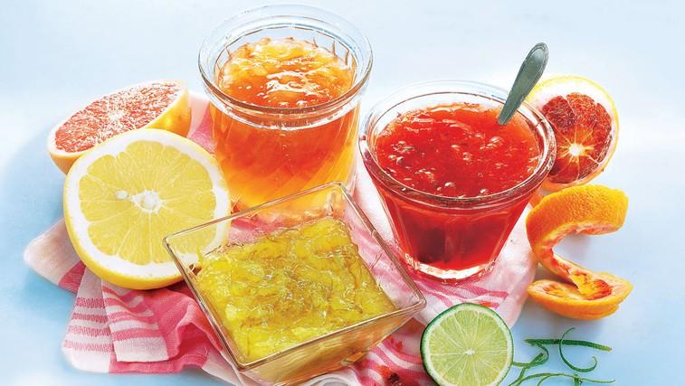 Sladki namazi iz citrusov (foto: Shutterstock.com)