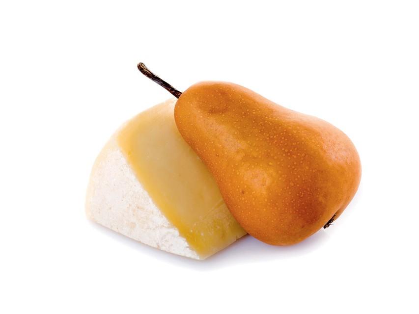 Hruška s sirom