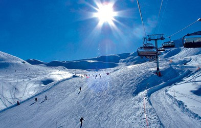 Les Arcs - romantika na snegu