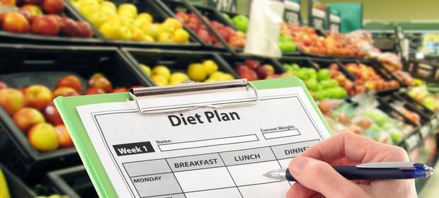 Dieta zahteva priprave