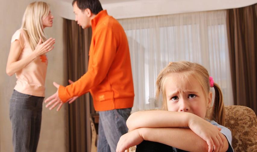 Otrok v vrtincu starševskega prepira