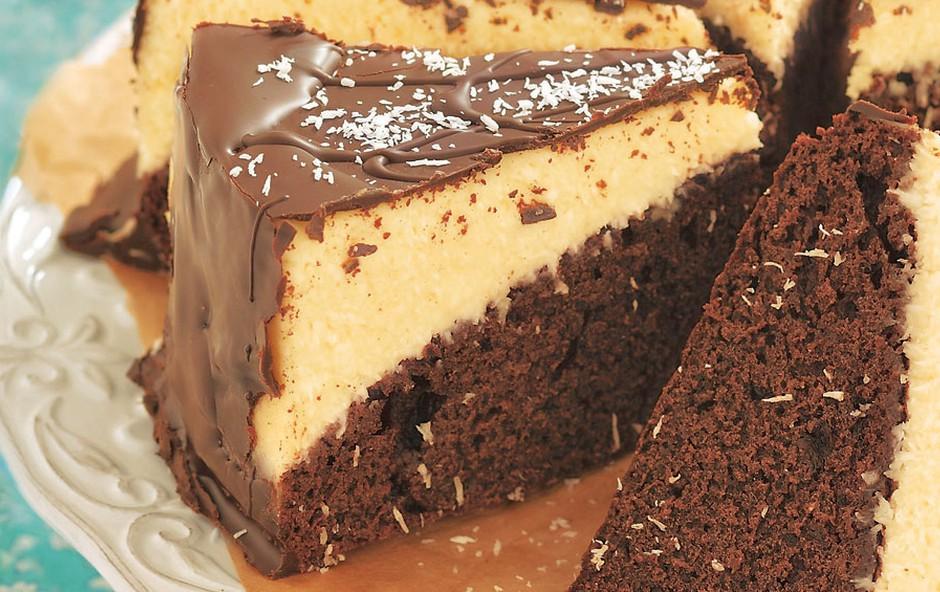 Čokoladni kolač s kokosom (foto: Arhiv revije Lisa)