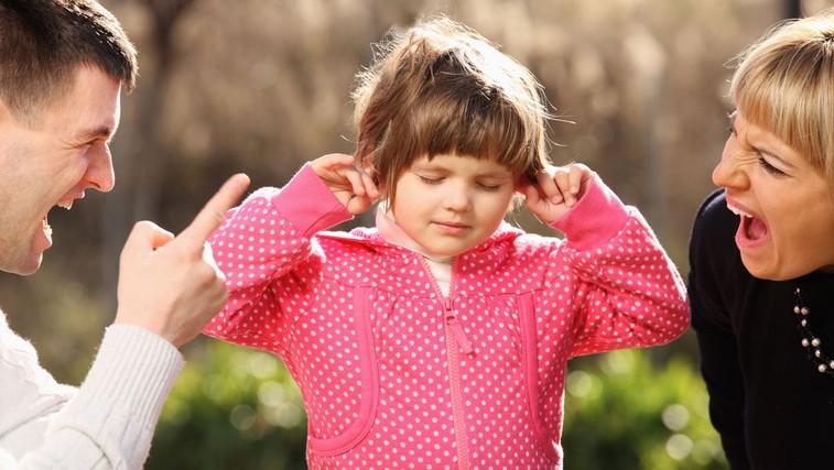 Verbalno nasilje strašev nad otroki (foto: Shutterstock.com)