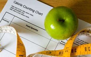 Načrtno zmanjšajte vnos kalorij