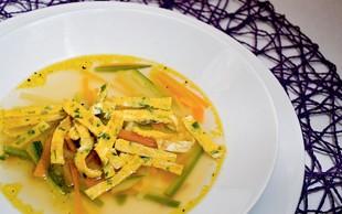 Peteršiljeva juha s frtaljo