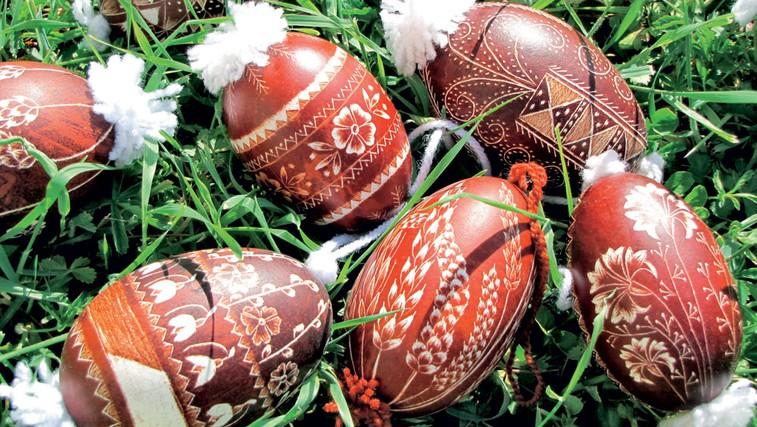 Velikonočno jajce - svojevrstna umetnina (foto: Osebni arhiv ustvarjalcev)