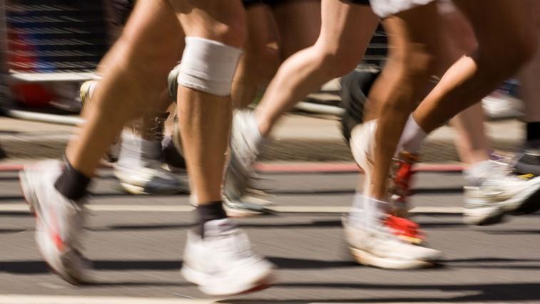Poškodbe pri teku (foto: Shutterstock.com)