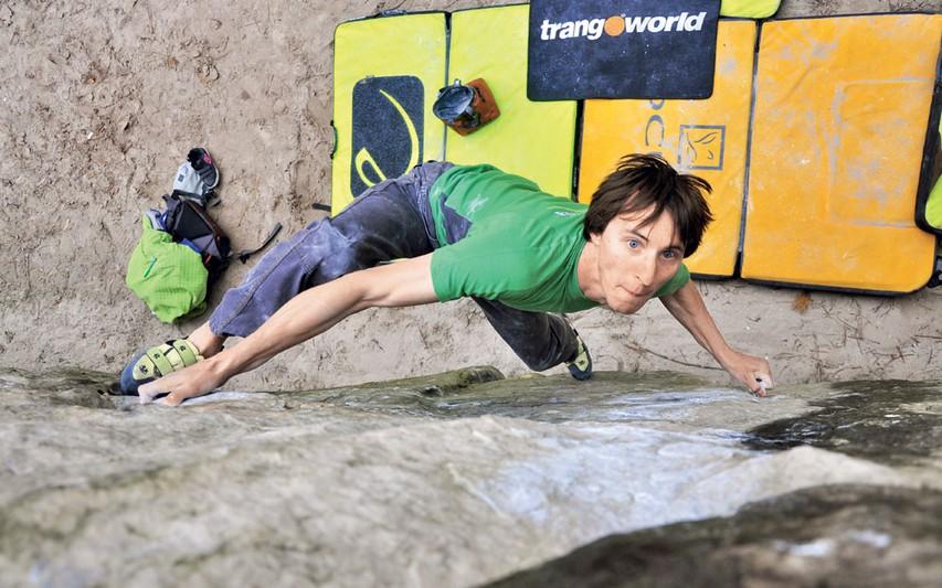 Klemen Bečan, profesionalni plezalec
