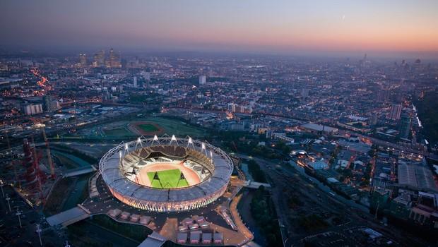Olimpijski stadium v Londonu. (foto: London 2012)