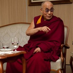 Njegova svetost Dalajlama v Mariboru. (foto: Arhiv revije Lisa)