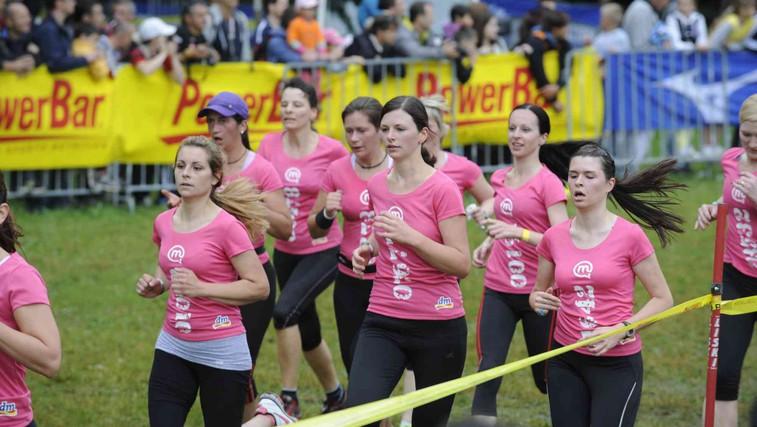 Foto: 7. dm tek za ženske v Tivoliju (foto: Primož Predalič)