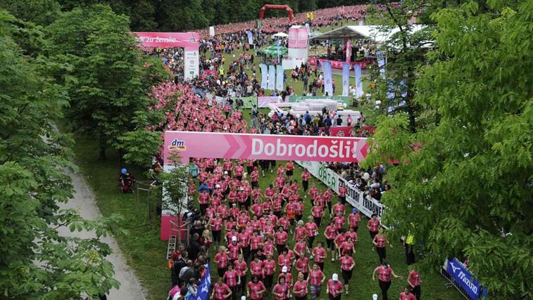 Na 7. dm teku za ženske več kot 8 500 tekačic (foto: Promocijski material)