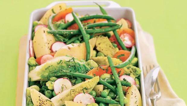 Mlada zelenjava iz pečice (foto: Arhiv revije Lisa)