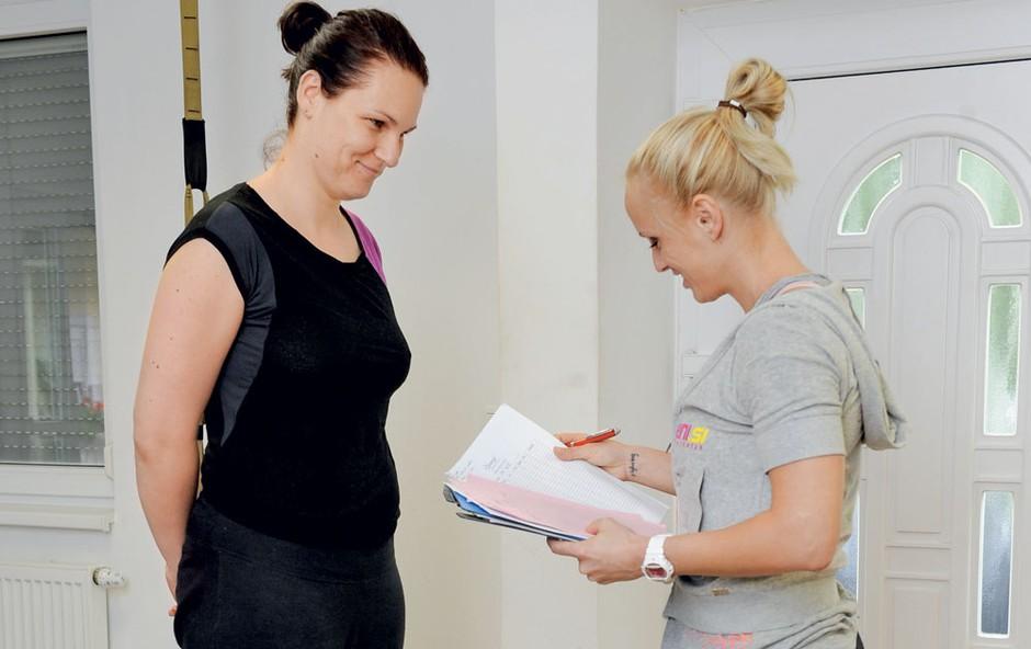Hujšajmo z Ego Slim & Vital: Novopečena mamica Bojana (foto: Primož Predalič)