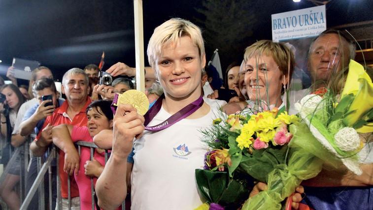 Zlata Urška, srebrni Kozmus, bronasti fantje! (foto: Goran Antley, Getty images)