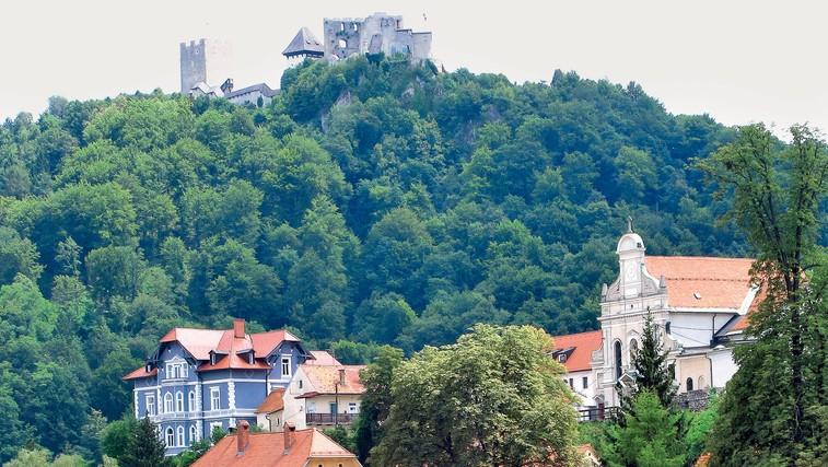 Celjski stari grad (foto: Goran Antley)