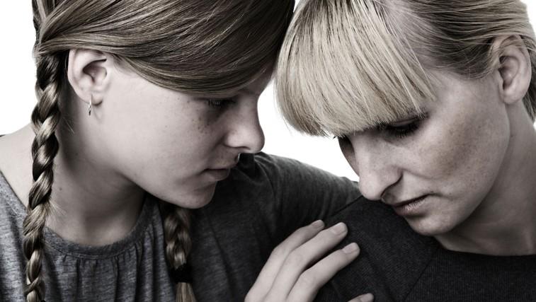 Mamine duševne težave in njeni otroci (foto: Shutterstock.com)