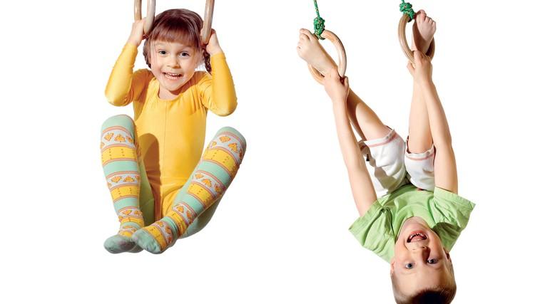 Telovadba za otroke od 4. leta (foto: Shutterstock.com)