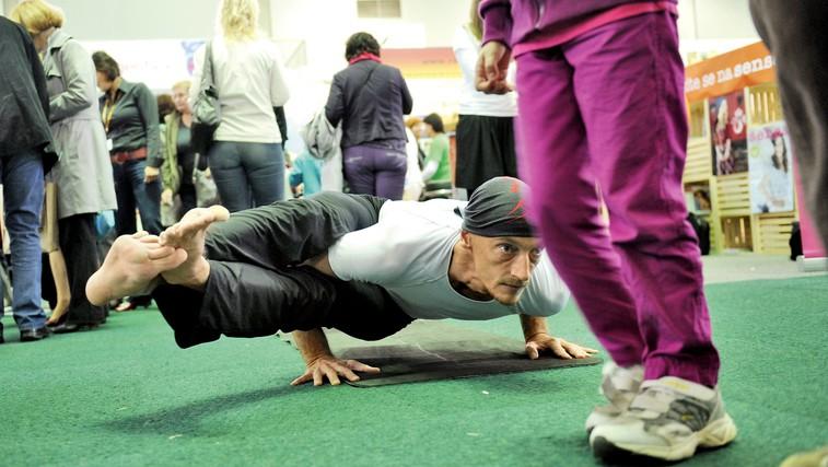 Kaj lahko pridobite s prakso joge kot tekač? (foto: Primož Predalič)