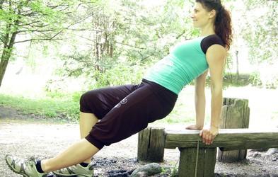 Pilates vaje za moč v času nosečnosti