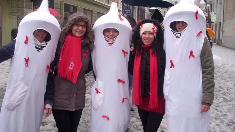 Prvi december – svetovni dan boja proti AIDSu (foto: projekt Virus)