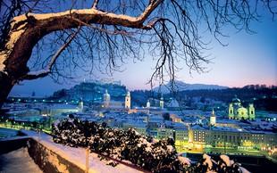 Salzburg - mesto glasbe v prazničnem sijaju