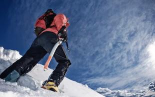Oprema za najnevarnejše zimske športne podvige