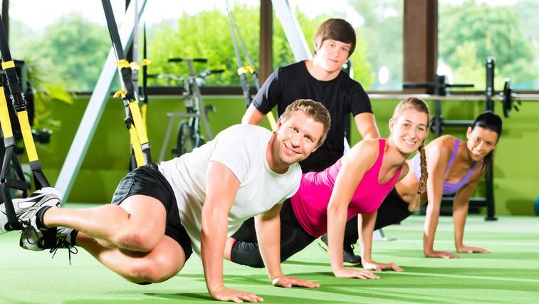 TRX VIP trening – najboljši osebni trening za vsakogar! (foto: Shutterstock.com)