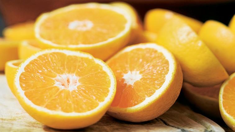 Pomaranča - poživlja in krepi (foto: Shutterstock)