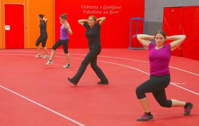 Prvi trening udeležencev @life antistresne preobrazbe