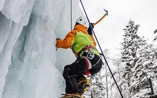 Foto utrinki: Ledeno plezanje v družbi Larrya Fitzgeralda