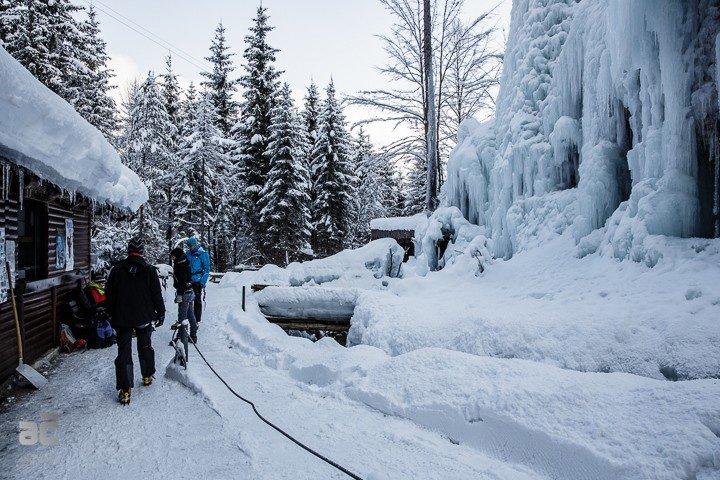 Ledeno plezanje Mojstrana