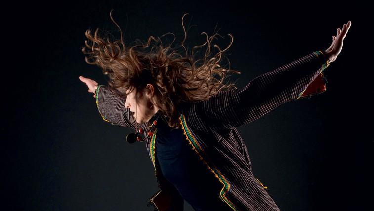 Ples brez forme s Kristino De Ventus (foto: Uroš Zajec)