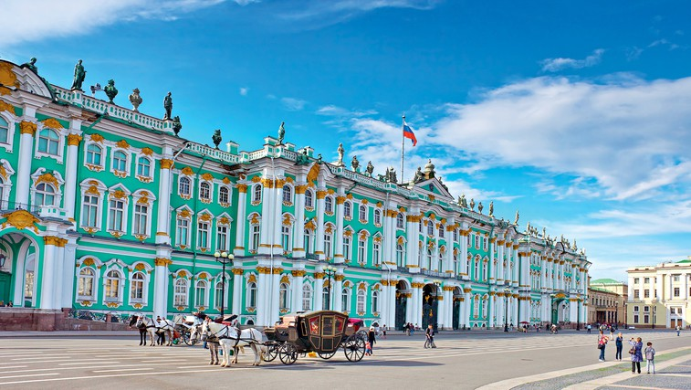 Ermitaž, Sankt Peterburg, Rusija