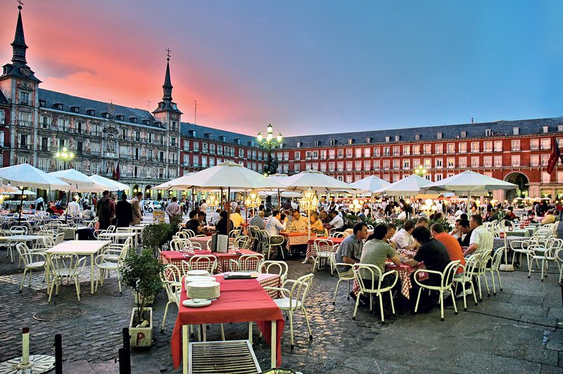 Plaza Mayor, Madrid, Španija