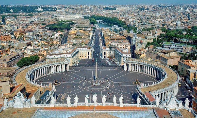 Trg Svetega Petra, Vatikan, Rim, Italija