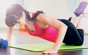 Najučinkovitejše vaje za učvrstitev prsi