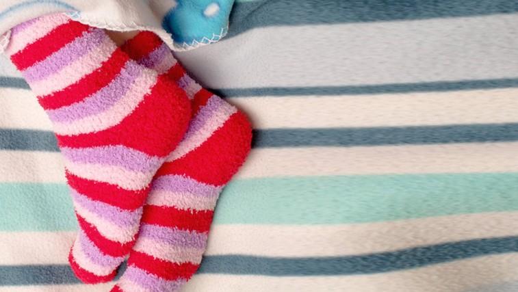 6 nasvetov za spanec brez mrzlih nog (foto: Shutterstock.com)
