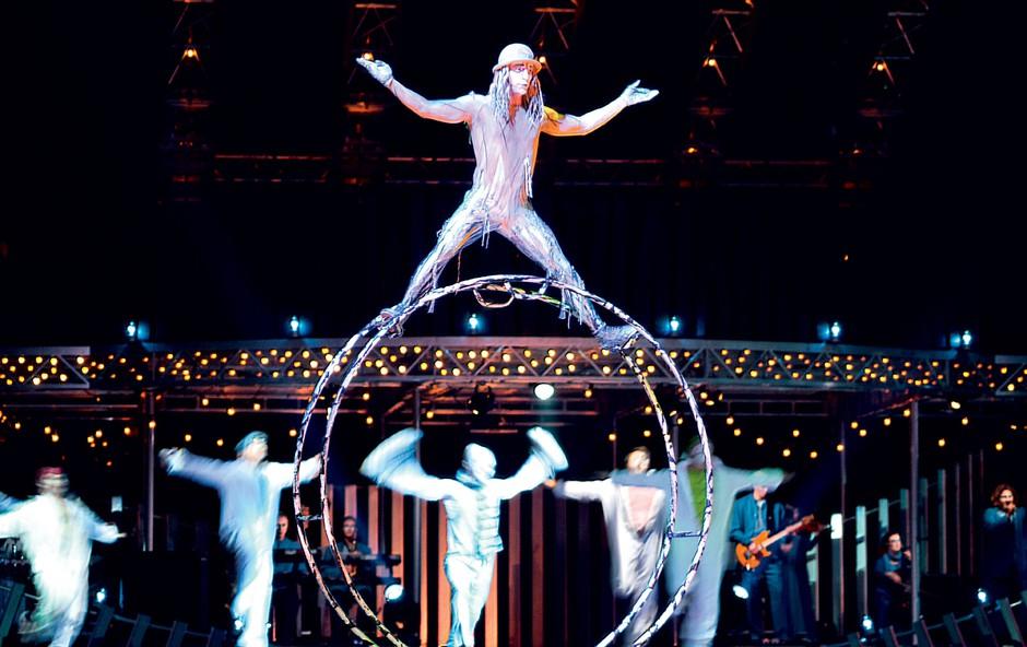 Najboljši moderni cirkusi na svetu (foto: Shutterstock, Productions Neuvart / Valerie Remise, Henri Brauner / Cirque Plume,  Profimedia, http://www.chinesestatecircus.com/, http://bigcirc.ru/)