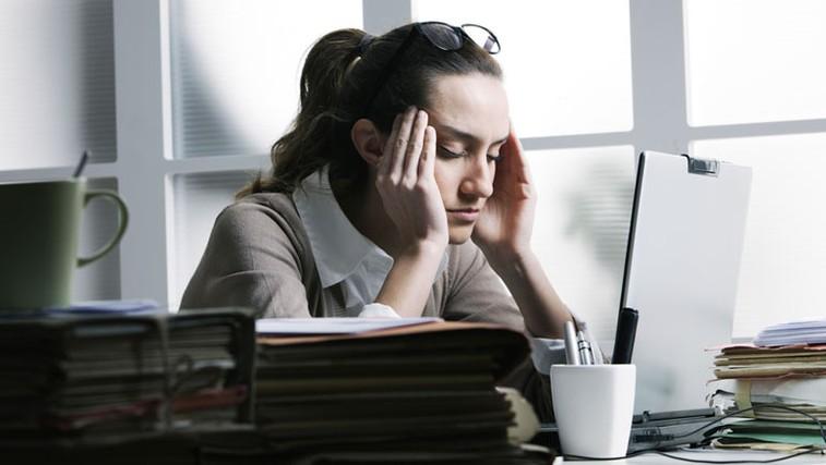 Stres na delovnem mestu (foto: Shutterstock.com)